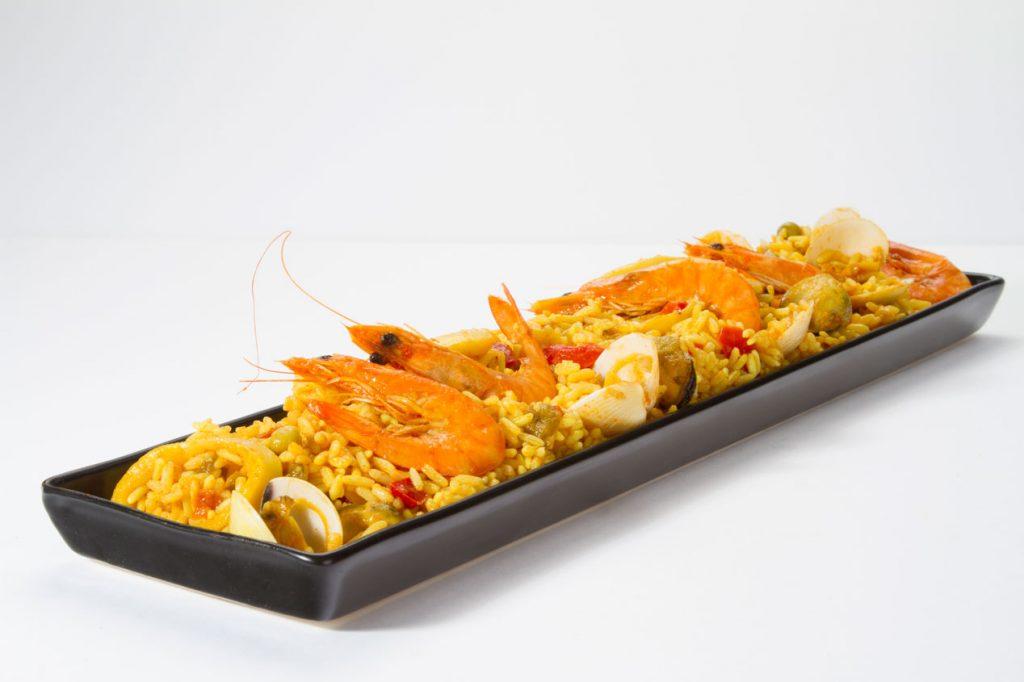 Paella-marisco